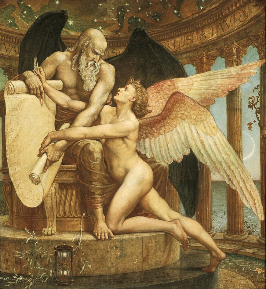 Walter Crane - τhe Roll of Fate