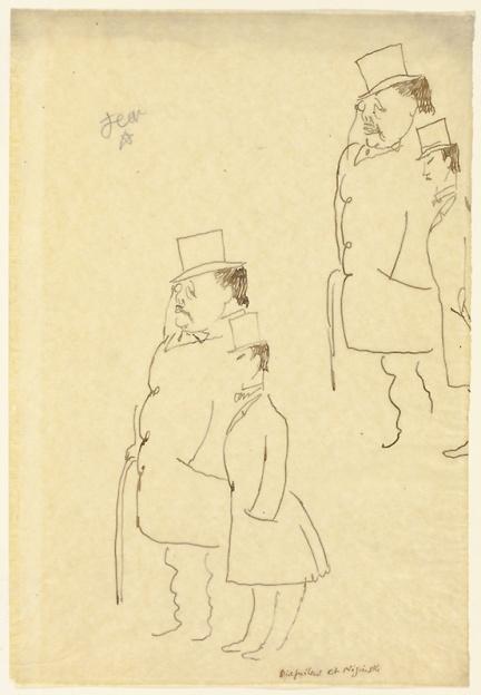Дягилев и Нижинский: рисунок Ж. Кокто