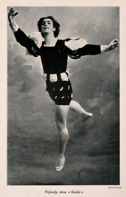 V0007207 Vaslav Nijinsky, a ballet dancer, in a scene from G̀isè Credit: Wellcome Library, London. Wellcome Images images@wellcome.ac.uk http://wellcomeimages.org Vaslav Nijinsky, a ballet dancer, in a scene from G̀isèle'. Reproduction of a photograph by Roosen, 1934. 1934 By: RoosenPublished: - Copyrighted work available under Creative Commons Attribution only licence CC BY 4.0 http://creativecommons.org/licenses/by/4.0/
