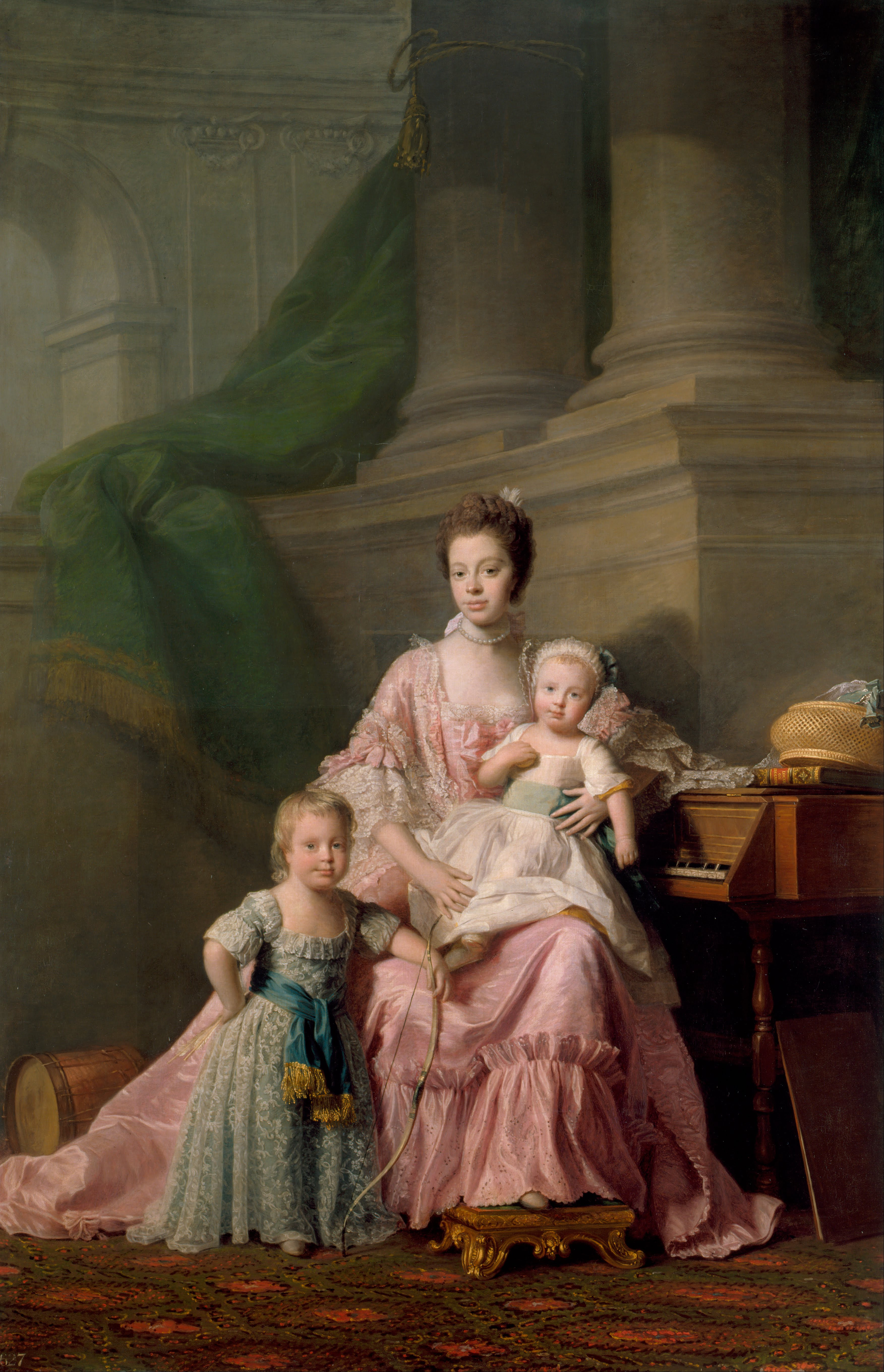 Allan_Ramsay_-_Queen_Charlotte_(1744-1818),_with_her_Two_Eldest_Sons_-_Google_Art_Project