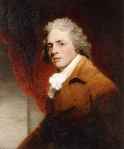 Портрет джентльмена (считается, что Ричарда Шеридана), кисти Джона Хоппнера)